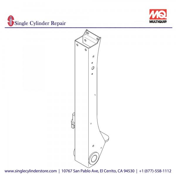 Multiquip 470121870 Handle Bar, MVH208GH