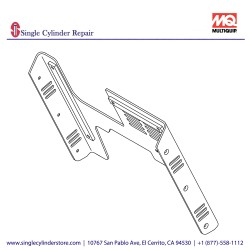 Multiquip 470219570 REAR COVER
