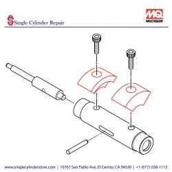 Multiquip 469352310 ECCENTRIC ROTATOR MVH508DZ