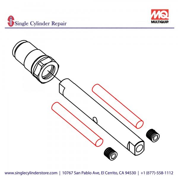 Multiquip 470468950 Stop pin, MVH208