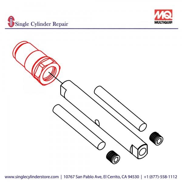 Multiquip 470468970 Bush pump, MVH208GH