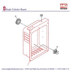 Multiquip 7931800302 Control Box GA-2.3R2