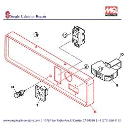 Multiquip 7931810303 Panel Control GA-2.5H