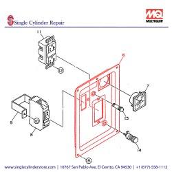 Multiquip 7931810503 Control Panel GA-2.3R2