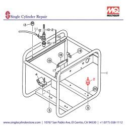 Multiquip 7935419204 Suspension Rubber GA-2.5H