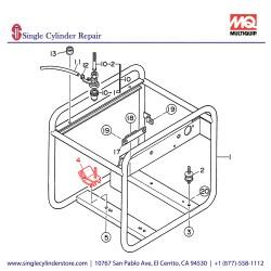 Multiquip 7935419304 Suspension Rubber GA-2.5H