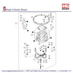 Multiquip Drum Assy 802786