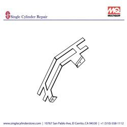 Multiquip Blade, Steel 803181