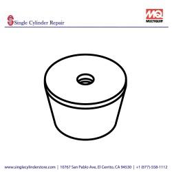 Multiquip 939009470 Stopper Rubber MVH-208GH