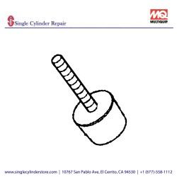 Multiquip 939010220 Stopper Shock Absorber MVHR-60H