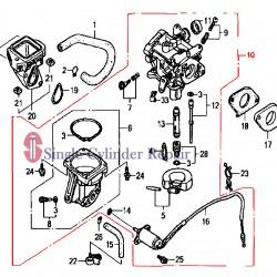 Multiquip Carburetor Cbg21Q A) Ga-9.7He 16100ZJ0912
