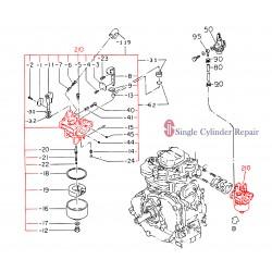 Multiquip 2476231500 Carburetor Assy Use 2476231520
