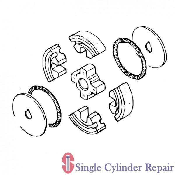 Multiquip 371447630 Clutch Assy Use 371447632