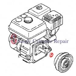 Multiquip Clutch Spacer 404418150