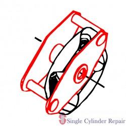 Multiquip Clutch Rotor Assembly C30Hd EM26321