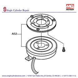 Multiquip Clutch Magnetic Assy Mb-25 M5CLMMC500