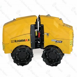 Multiquip RX1575 Articulating Trench Roller Yanmar with drum extend