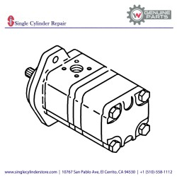 Wacker Hydraulic pump 5000112605