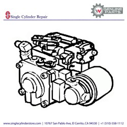 Wacker Hydraulic pump 5000156789