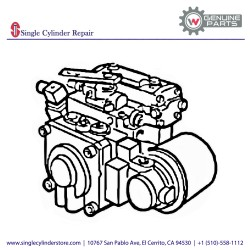 Wacker Hydraulic pump 5000157665