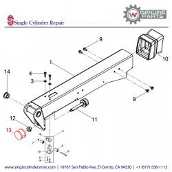 Wacker 5000043233 Shockmount