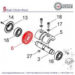 Wacker 5000047057 Gear wheel