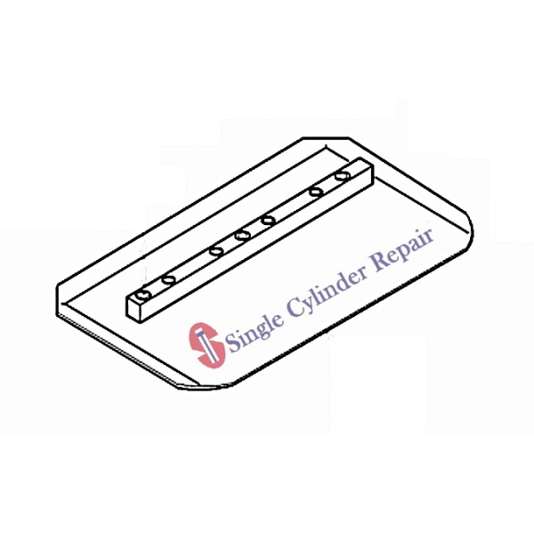 Wacker Neuson 5000075061 Float Blade, Set Of 4, 36