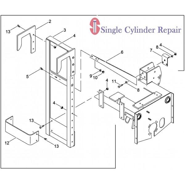 Wacker Neuson 5000077728 Kit-Transport Device, Bkt/Box (Rs800)