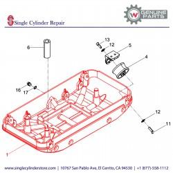 Wacker 5000102356 Baseplate