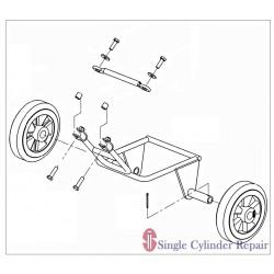 Wacker Wheel Kit, All Sizes 5000130556