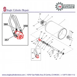 Wacker 5200016941 Exciter motor