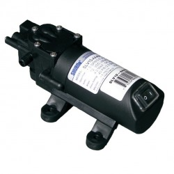 Shurflo SLV10-AA48 Diaphragm Automatic Demand Pump w/Manual Switch & 2-pin Connector