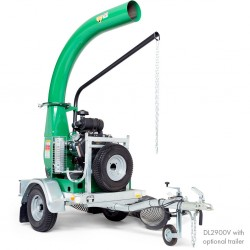 Billy Goat DL2900V Debris Loader Vanguard Electric Start