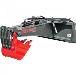 GreyWolf 1065.GRY Skid Steer Backhoe Attachment