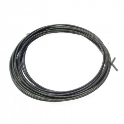"""General Pipe Cleaners 122040.GEN Cable, 5/8"""" x 100' with Male & Female Connector"""