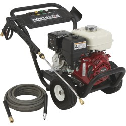NorthStar 157124 Cold Water Pressure Washer, Honda GX270, 3600PSI, 3.0GPM
