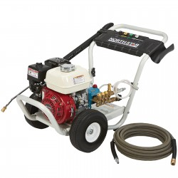 NorthStar 157132 Cold Water Pressure Washer, Honda GX200, 3300PSI, 2.5 GPM