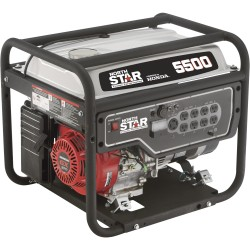 NorthStar 165601 Generator 5500W Surge, 4500W Rated, Recoil