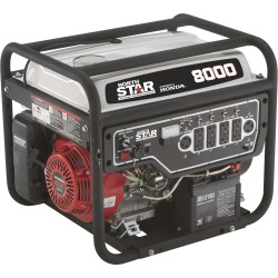 NorthStar 165604 Generator 8000W Surge, 6600W Rated, Electric Start