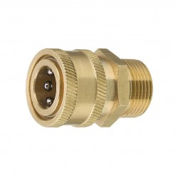 Brave 221008.DOS Quick Coupler, 22 mm w/ Male Fitting