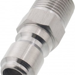 """Brave 777913.DOS Quick Coupler, 3/8"""" w/ Male Inlet"""