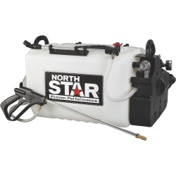 NorthStar 99905 16-Gallon Capacity, 2.2 GPM, 12 Volts ATV Boomless Broadcast and Spot Sprayer