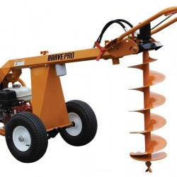 Brave BRPA325H Earth Auger, Towable, Hydraulic, GX270