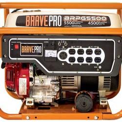 Brave 5,500 Watt Generator Honda 270cc 120/240 AC / 12V DC BRPG5500