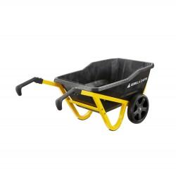 Gorilla Carts GCR-7S Gorilla Carts 7-cu ft Poly Yard Cart