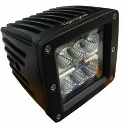 Tigerlights TL205F LED Light, 1,350 LM, 18 W, 1.5 Amp, Flood