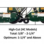 "California Trimmer RL205HC-BS550 20"" HO Classic High-Cut Reel Mower"