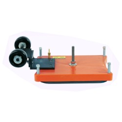 Diamond Products 4247075 Vacuum Plate with Wheels