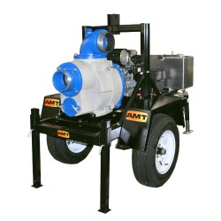 AMT 5585-H6.AME Towable Trash Pump, Honda GX660 w/ Electric Start