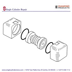 Diamond Products 6061253 Guide Roller